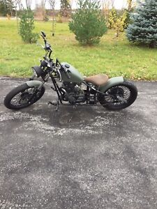 Bobber motorcycle Cleveland