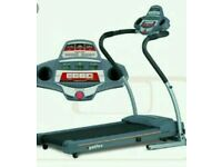 Treadmill bh fitness electric and lcd screen for speed call distans