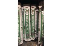 Roofing Felt Green Mineral Cheap Temporary Cover Rose Roofing Roof Shed Kennel 8 m = £ 10