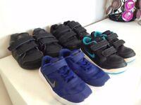 Adidas and Nike kids Trainers