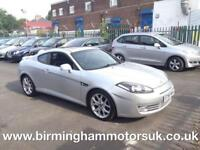 2007 (56 Reg) Hyundai Coupe 2.0 Slll AUTOMATIC 3DR Coupe SILVER + LOW MILES