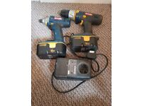 Ryobi Drill & Drill Driver Set with Charger