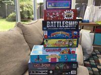 Box of Children's Games