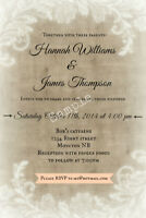 Wedding Invitations / Custom Decor