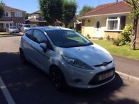 2011 Ford Fiesta Zetec 1.4 Automatic - only 59,000