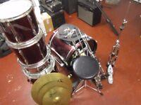 Pearl Export full drum kit