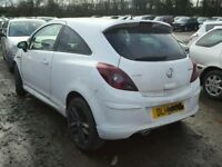 BIG VARIETY OFF PARTS AVAILABLE FOR 2014 VAUXHALL CORSA LTD ENGINE GEARBOX BODY PARTS