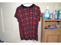 Tartan T-Shirt Size 16