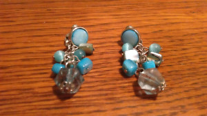 Costume Clasp Earrings