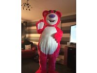 Adults Pink Bear Costume