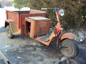 WANTED 1950's CUSHMAN TRUCKSTER FOR RESTORATION