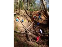 Early years educator for nature kindergarten in mid-Hampshire