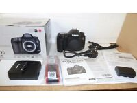 Canon EOS 7D Mark II ( G ) Digital SLR Camera BODY