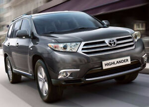 WANTED: 2010-2013 Toyota Highlander, Honda Pilot; or Similar SUV