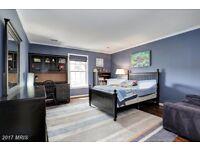 Beautiful Surya blue and grey striped rug 8'x10'