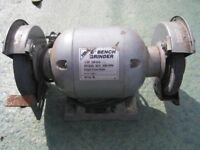 Hika 6 inch bench grinder 370 watts, 50 hz, 3000 rpm, single phase motor