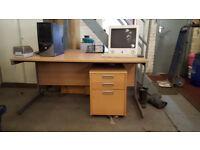 Clean office furniture.
