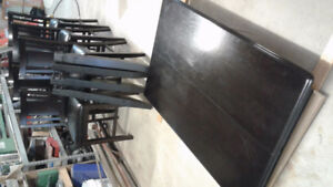 Ashley pub style table & 6 chairs / Sold.