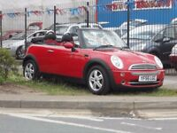 (CONVERTIBLE)MINI COOPER .1.6.CC .READY TO DRIVE AWAY....(2007)...