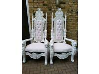 Decor Hire,Venue decoration,Throne chair hire,chair covers