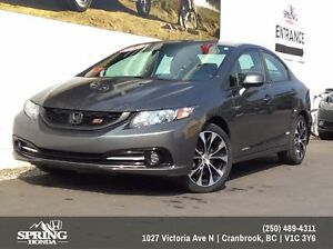 2013 Honda Civic Si $138 Bi-Weekly