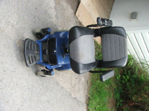 Pride Mobility Electric wheel chair (portable)