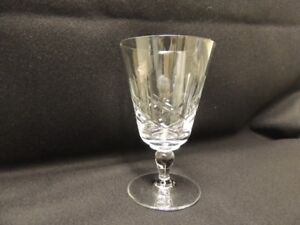 Cross and Olive Crystal Glassware