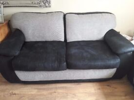 3 and 2 seater couch