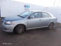 TOYOTA AVENSIS 2005 BREAKING FOR SPARES TEL 07814971951 HAVE FEW IN STOCK