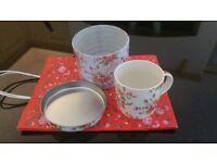 New Cath Kidston mug, tin and gift bag