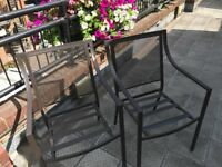 6 x Habitat Garden Chairs Outdoor Chairs as New