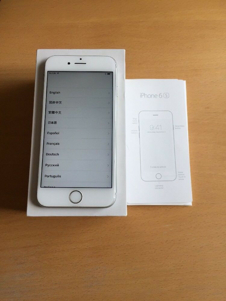 Apple iPhone 6S 16GB Silver Unlockedin North London, LondonGumtree - Apple iPhone 6S 16GB Silver Factory Unlocked to Any Network This phone working perfectly and has the memory of 16GB. The phone would be in good condition and working perfectly The Phone comes with Apple Plug Apple Cable Apple Book IF INTERESTED...