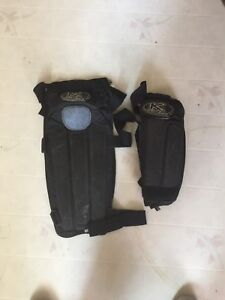 Kona elbow and knee shin pads mtb bmx