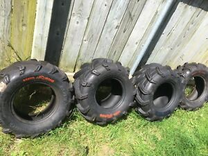Set of MudBug MAXXIS ATV tires