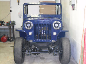 52 WILLYS JEEP