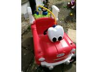 Little tikes ride on fire engine