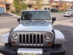 2013 jeep wragler sahara 4 door all original