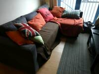 Sofa bed with corner part £300 new