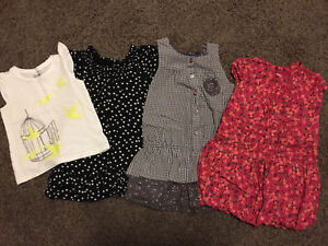 24 months Toddler Girls Clothes (9 pieces)