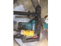 Makita sds hammer drill/breaker
