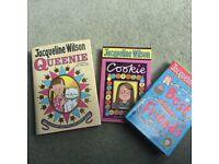 Jacqueline Wilson Books X 3 (1 hard cover & 2 paperback)