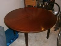 Dining table and chairs retro style G Plan