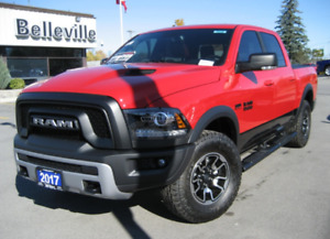 Front bumper and skid plate for 2017 Ram Rebel