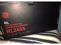 "24"" BenQ Console/PC monitor"