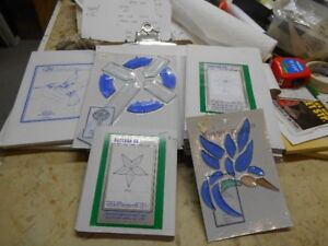 stained glass supplies, bevels and bevel sets