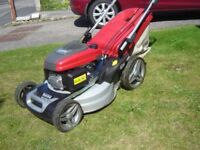 Honda Mountfield SP535HWV lawnmower mower 1 year old and is as new. Save £200 on new price