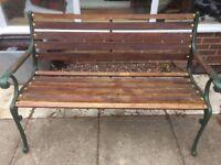 Garden Bench - Restored