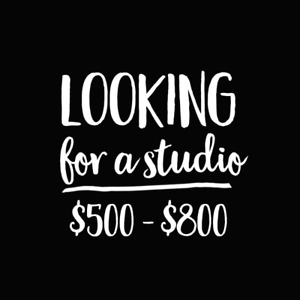 Looking for a studio