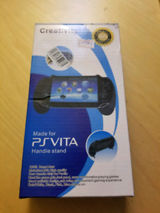 PS Vita grip handle stand