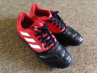 Adidas Astro Turf Trainers. Size 2, Good condition.